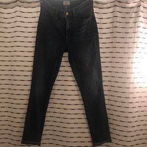 "J Crew 9"" Highrise Skinny Jeans size 27"